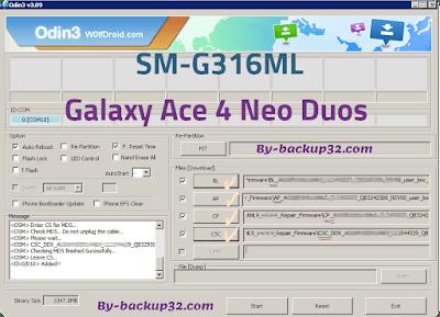 سوفت وير هاتف Galaxy Ace 4 Neo Duos موديل SM-G316ML روم الاصلاح 4 ملفات تحميل مباشر