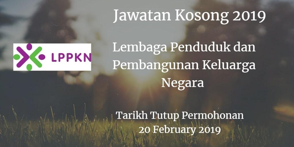 Jawatan Kosong LPPKN 20 February 2019