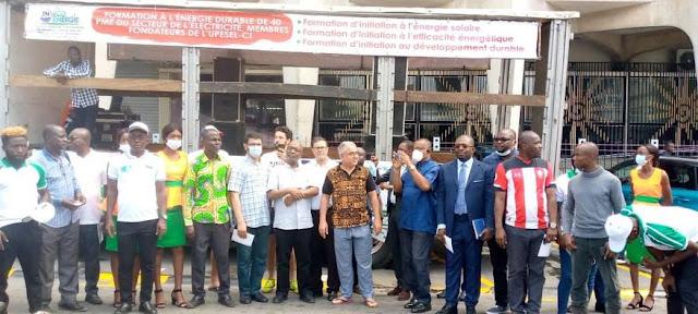 Coopération Ivoiro-Marocaine: Des professionnels du secteur de l'énergie renouvelable rendent hommage à Feu Azelarab EL HARTI