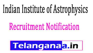 Indian Institute of Astrophysics Project