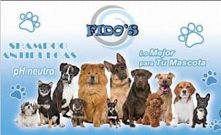 Fido's Shampoo está enriquecido con ingredientes de la más alta calidad