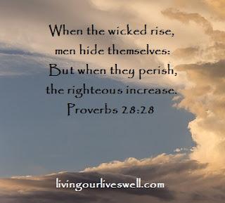 Proverbs 28:28