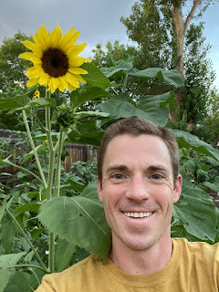 Man with Sunflower