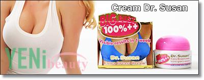 Cream Dr. Susan sangatlah efektif dan sangatlah bermanfaat dalam membuat payudara besar dan kencang