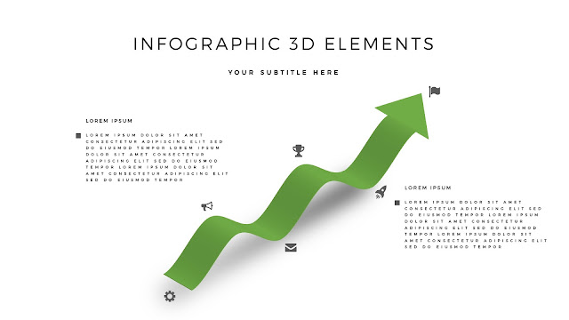 Fully Editable 3D Design Elements for PowerPoint Slide4