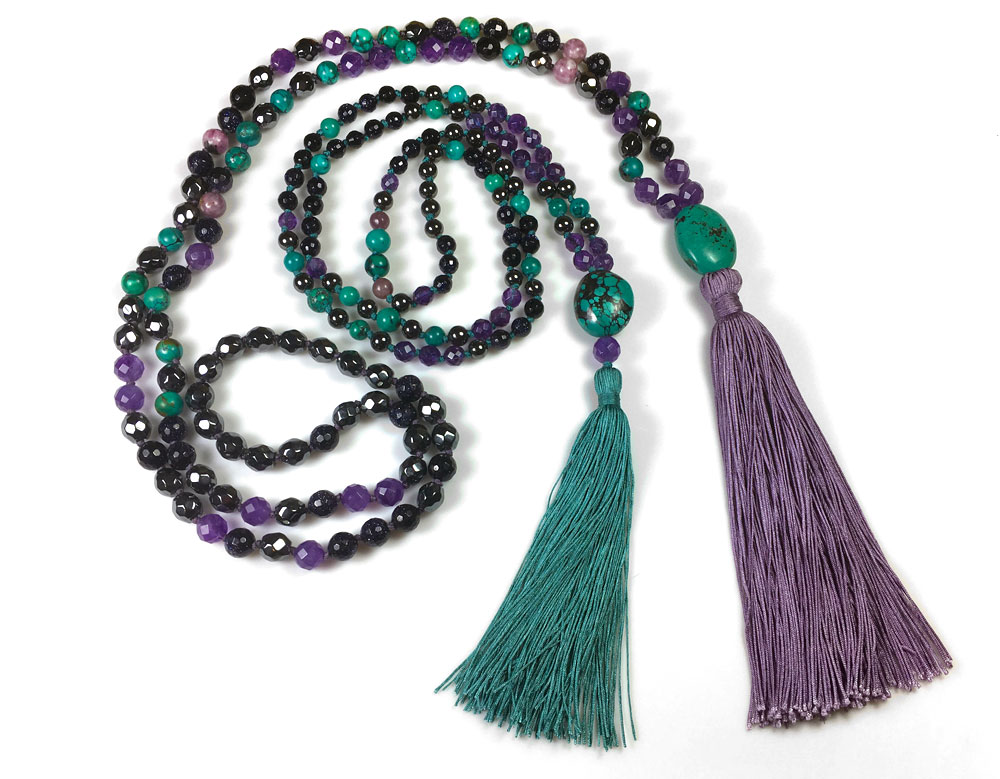 Marion Jewels in Fiber - News and Such: Making a Mala with a ...