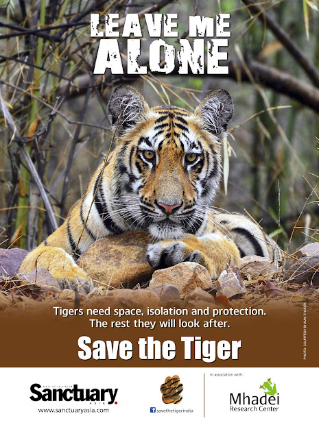 Goa Wildwatch Golbal Tiger Day Poster
