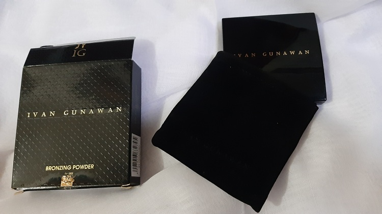 review ivan gunawan bronzing powder