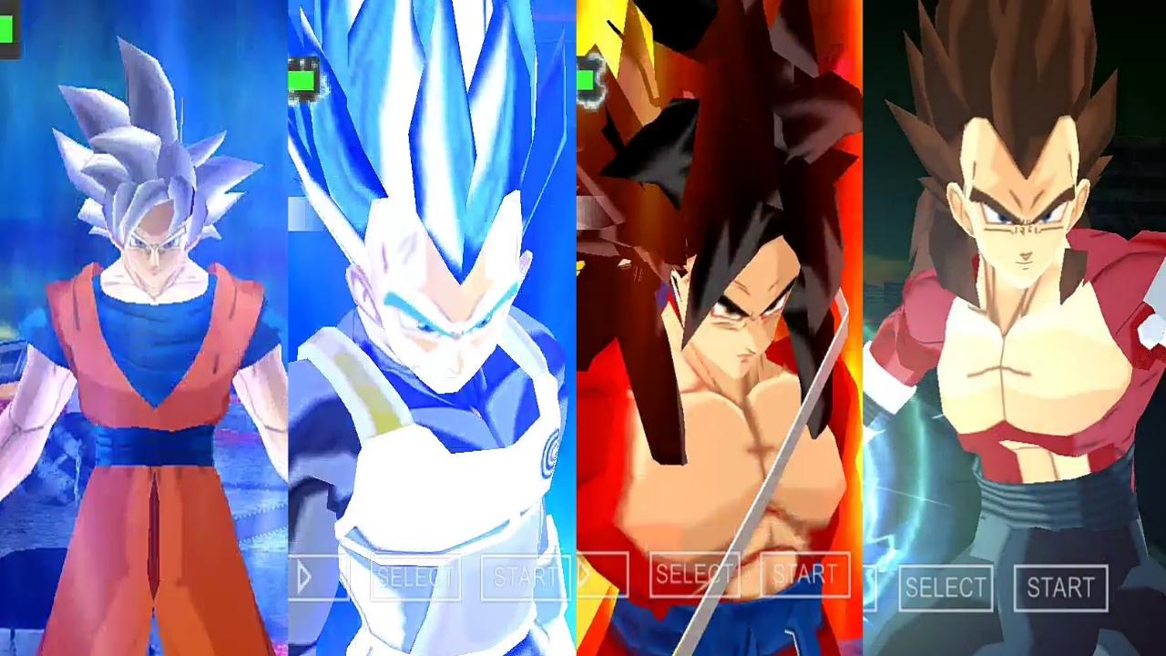 CC Goku Blue And Vegeta Blue
