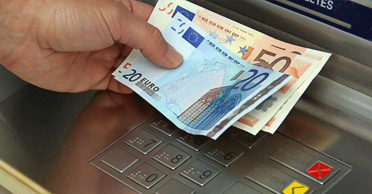 Hackers Steal Millions From European ATMs Using Malware That Spit Out Cash