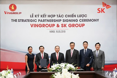 SK Group invested Vingroup