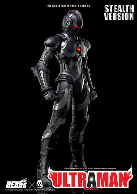 "pre-order de Ultraman Suit Stealth Version de ""Ultraman"" - Threezero"