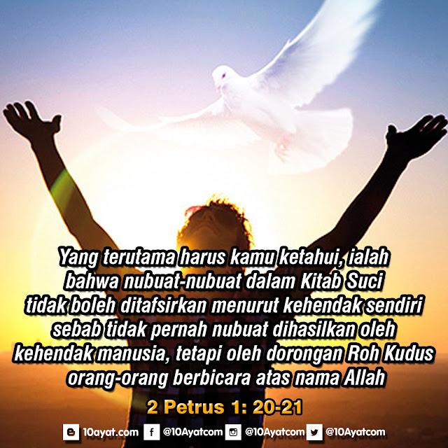 2 Petrus 1: 20-21