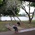 Jalan2 Ambil Angin Di Taman Rekreasi Cyberjaya Setelah Gagal Pergi Aquaria KLCC