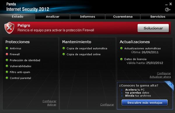 Panda Internet Security 2012 v17.00.00 [Full] [Español]