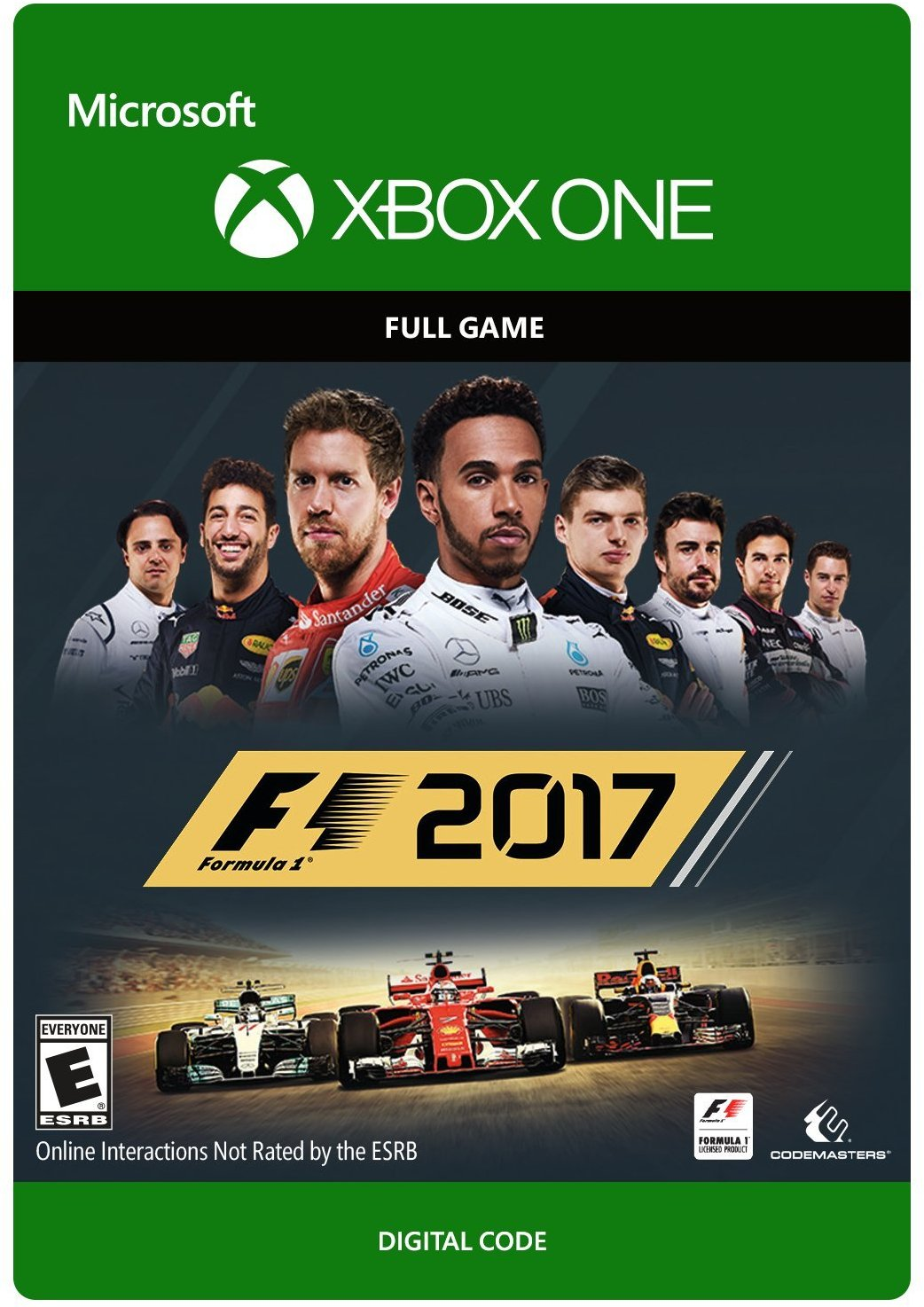 new games f1 2017 pc ps4 xbox one the entertainment factor. Black Bedroom Furniture Sets. Home Design Ideas