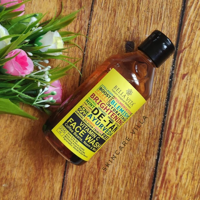 Bella Vita Organic Vitamin C Face Wash Review