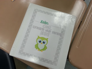 O.W.L. Binder Assembly (organized while learning)- help keep your students organized with these OWL binders- check out what all the tabs I keep in my OWL binders