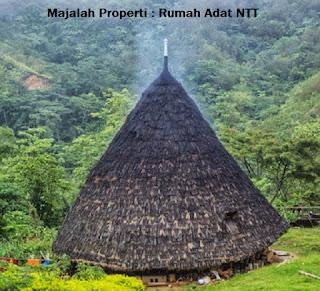 Desain Bentuk Rumah Adat NTT dan Penjelasannya, Rumah Tradisional Nusantara