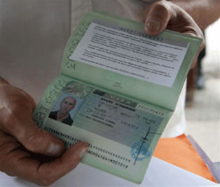 Obtenir le passeport biom trique for Demande 12s interieur d1a gov dz