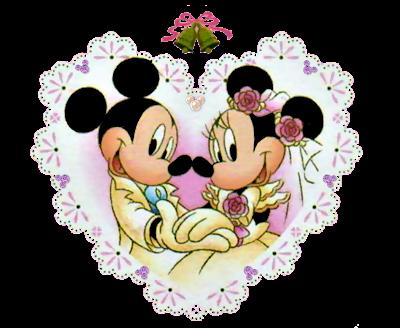 Imagens De Casamento Do Mickey E Da Minnie Noivos