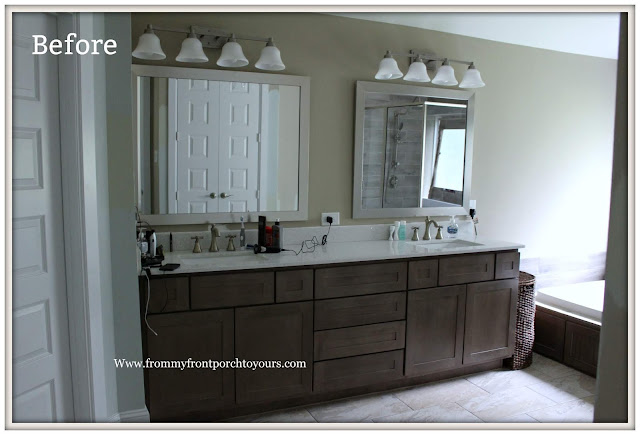 Master Bathroom Makeover-Reveal-Before-Builder Grade-From My Front Porch To Yours