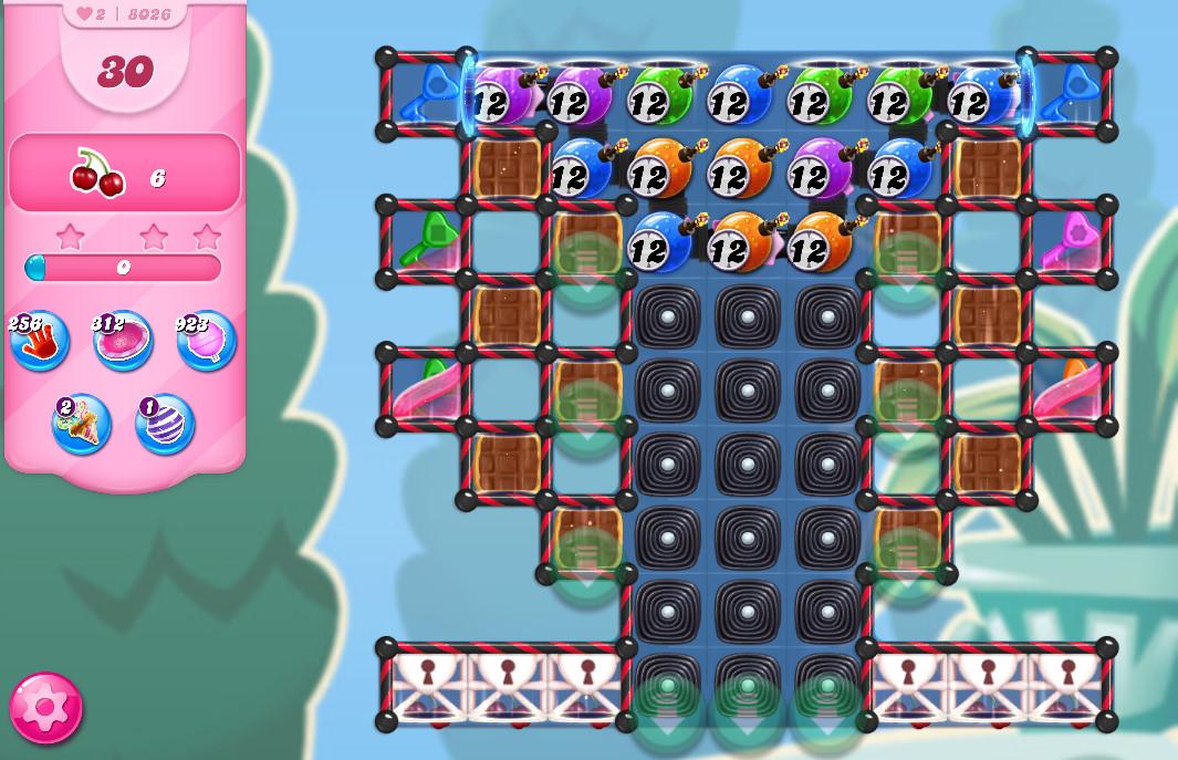 Candy Crush Saga level 8026