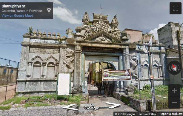Ginthupitiya Old Kovil, Colombo