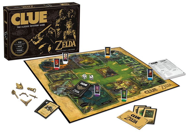 Se anuncia espectacular Cluedo de Zelda para junio