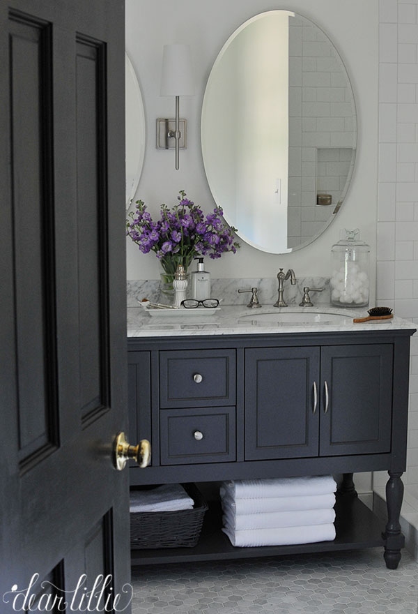 Our Almost Finished Master Bathroom Makeover With Before And Afters - Finished bathrooms