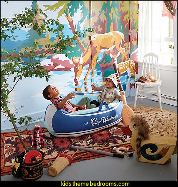 Day Trip Plush Canoe fun playroom furniture kids rooms