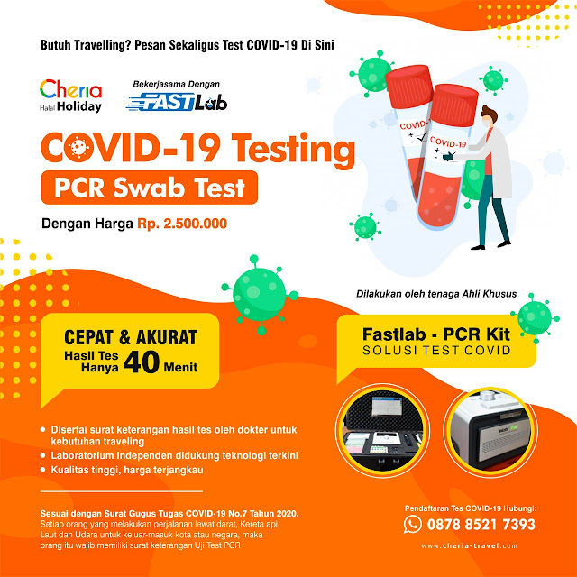 Dimana Pendaftaran Test Covid-19 Corona?