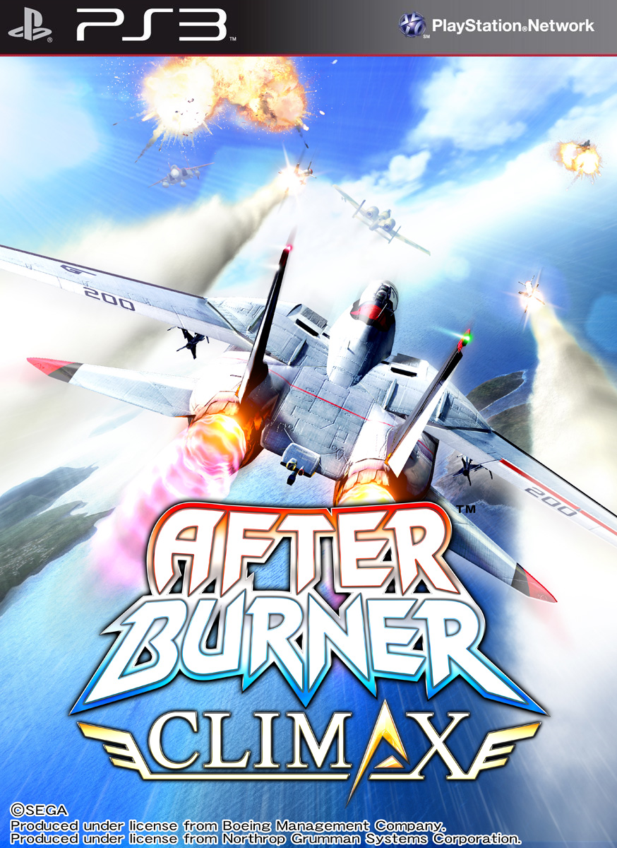 After Burner Climax PS3 ISO