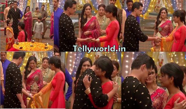 "Yeh Rishta Kya Kehlata Hai Episode Spoiler "" Naira-Kartik's Hug Naira Shouts On Kartik Janmashatmi Special """