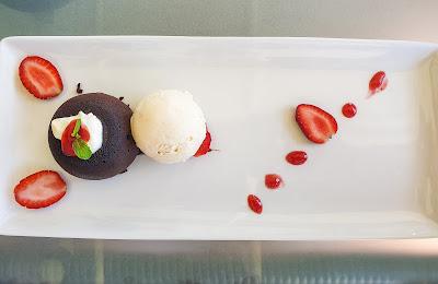 Chocolate Fondant, Strawberry