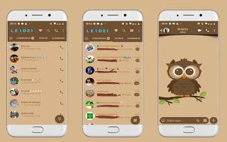 Owl Theme For YOWhatsApp & Fouad WhatsApp By Leidiane