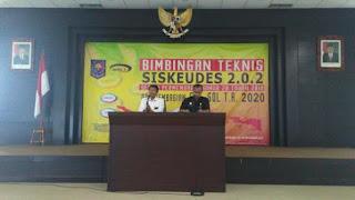 Perwakilan dari BPKP Edi Suharto Kasubdit Pengawasan Akuntabilitas Pembangunan dan Tata Kelola Keuangan Desa Wilayah 3.1. Dok: Makmur Sumarsono