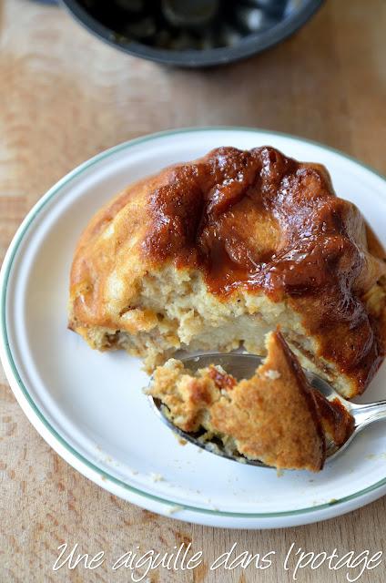 Pudding de pain au caramel au beurre salé