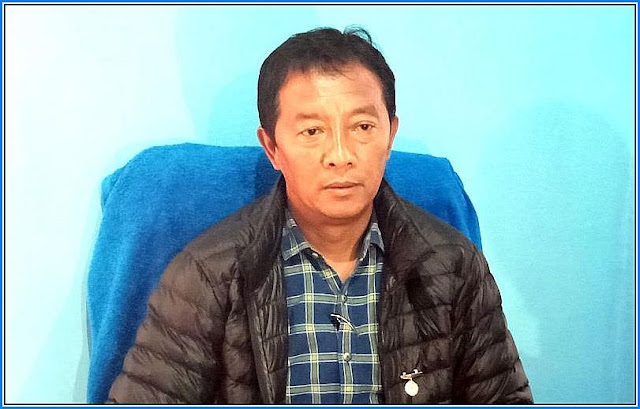 Binay Tamang after loosing LS and Assebly bypoll in Darjeeling Constituency