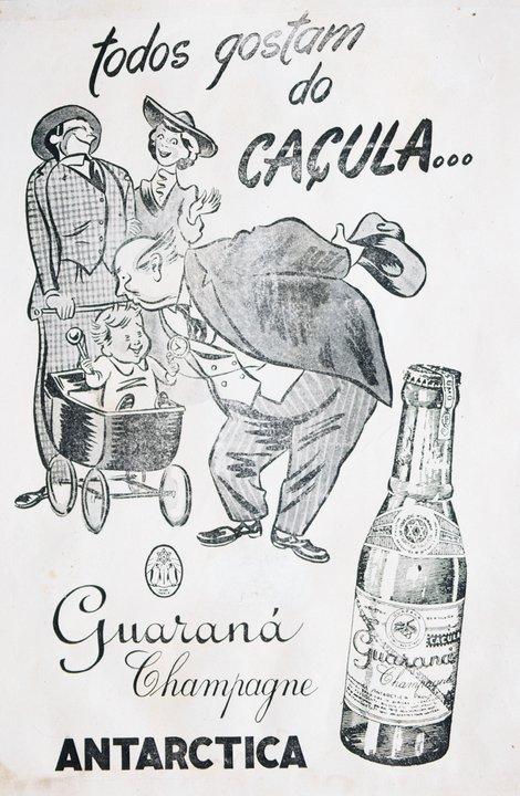 Propaganda da Antarctica promovendo a versão caçula do Guaraná Champagne