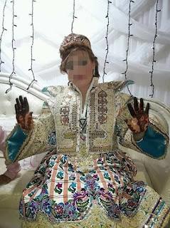 من أشهر الصناعات التقليدية برفراف لباس العروسة