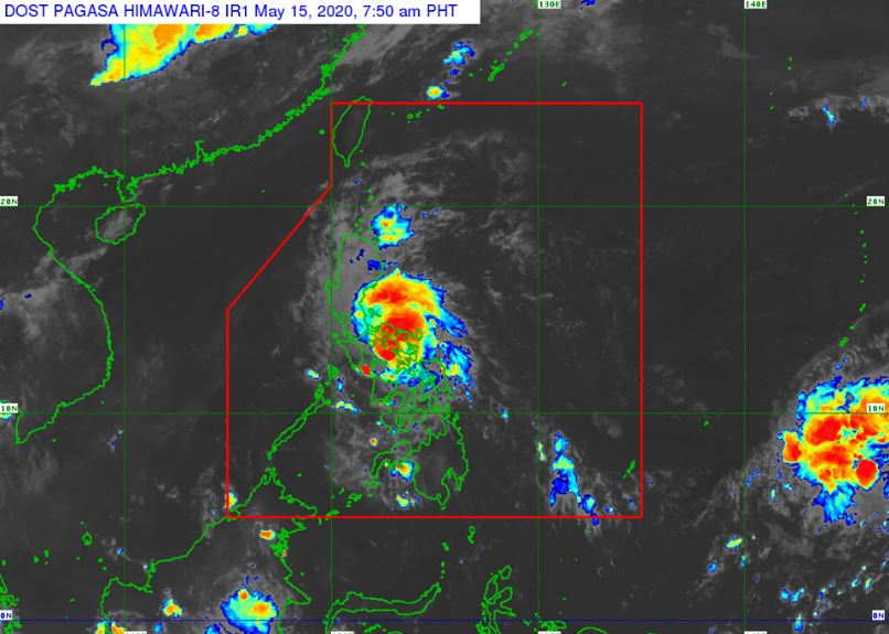 'Bagyong Ambo' PAGASA weather update May 15, 2020
