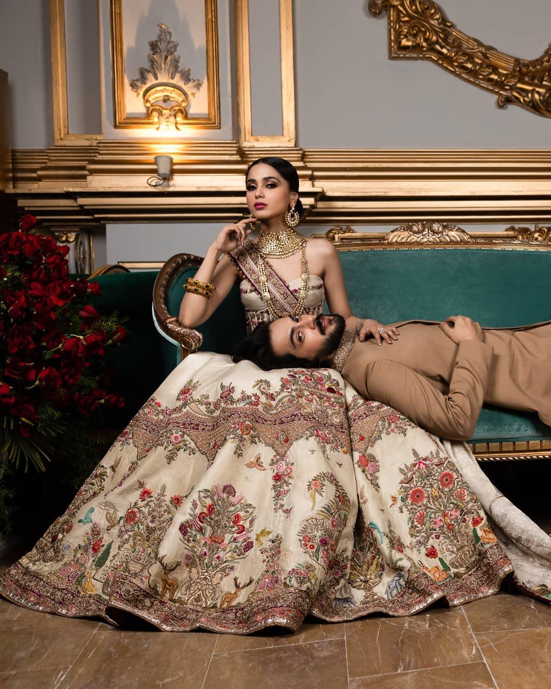 Aima Baig and Shahbaz Shigri photo shoot