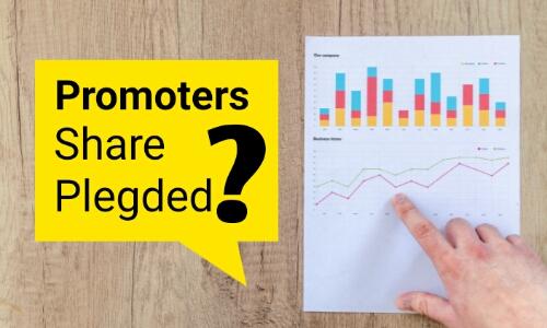 What is promoters share Pledging : निवेशकों के लिए  खतरा.