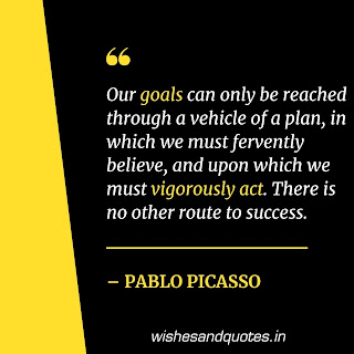 motivational quotes keep going pablo picasso