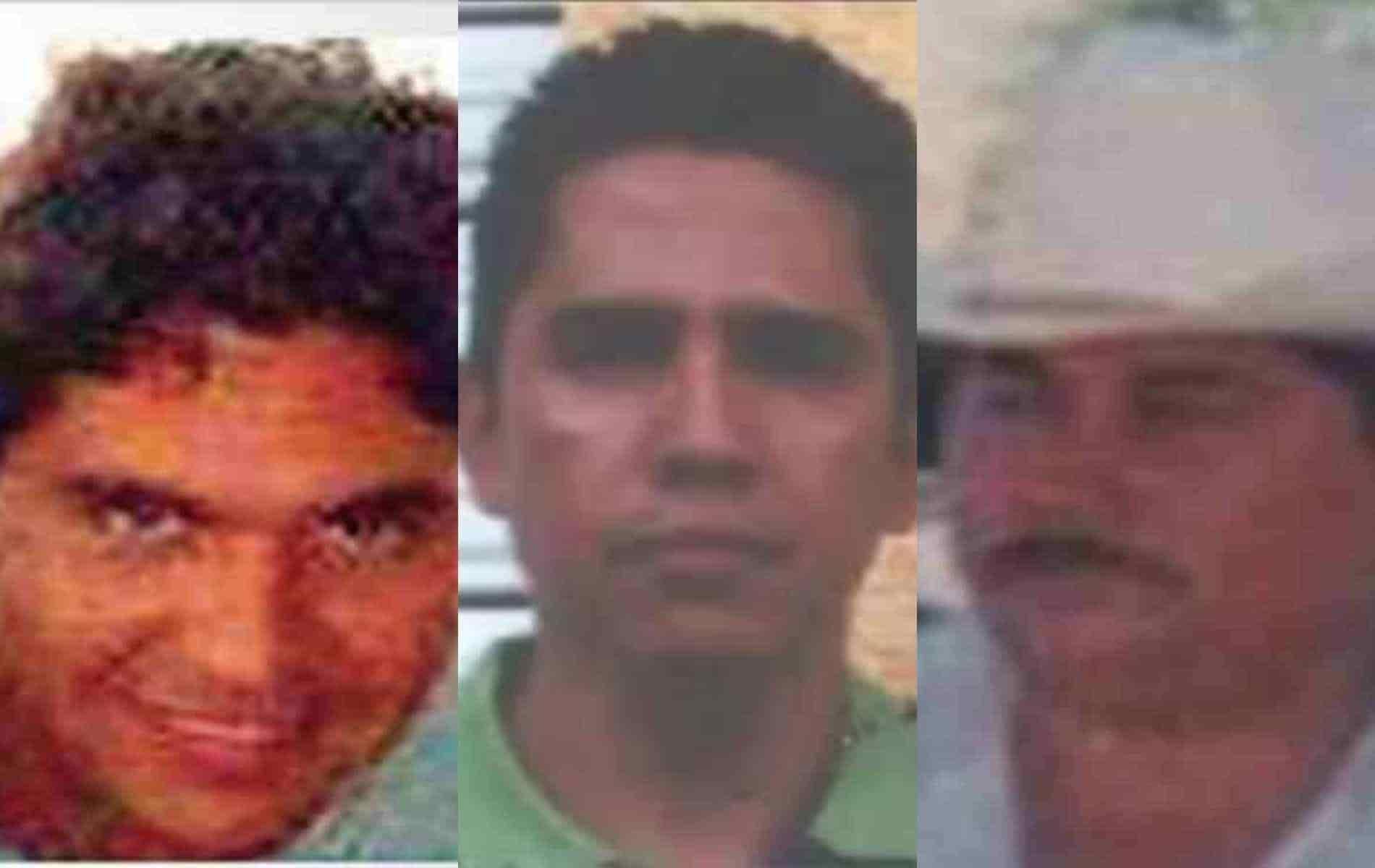 """Jefes de la Familia Michoacana, """"El Tuerto, Lalo el Mantecoso, La Fresa y El Pez"""", este ultimo es el que amenazo directamente a Zudikey Rodríguez"""