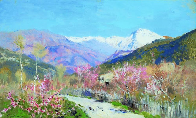 Исаак Ильич Левитан - Весна в Италии (2). 1890