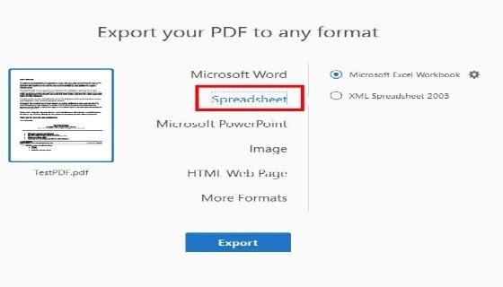 إليك كيفية تحويل ملف PDF بسرعة وسهولة إلى Excel
