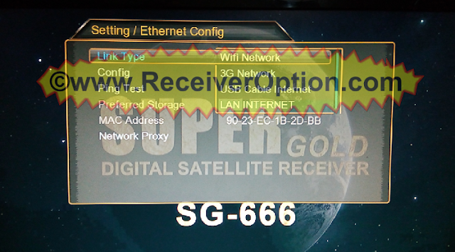 SUPERGOLD SG-666 HD RECEIVER NEW SOFTWARE WITH MR AUDIO