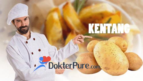 Manfaat aneka olahan kentang untuk kesehatan